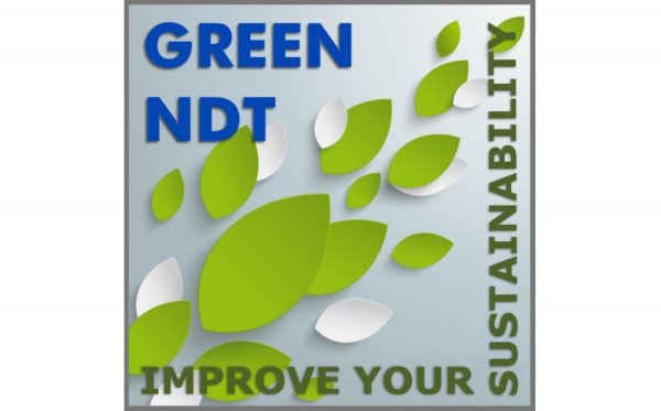 "It's not just ""eco"" – it's GREEN NDT!"