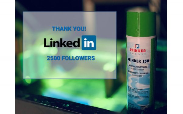 PFINDER NDT: Proud to have more than 2.500 followers on LinkedIn