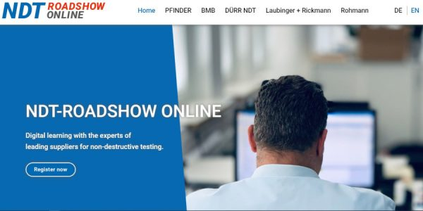 PFINDER's NDT-WebSessions:  Now part of the NDT-Roadshow ONLINE