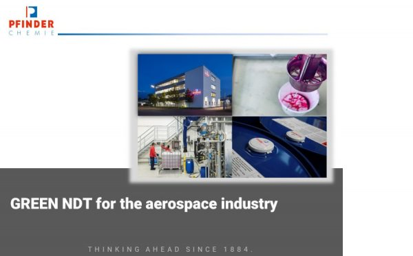 GREEN NDT for the aerospace industry